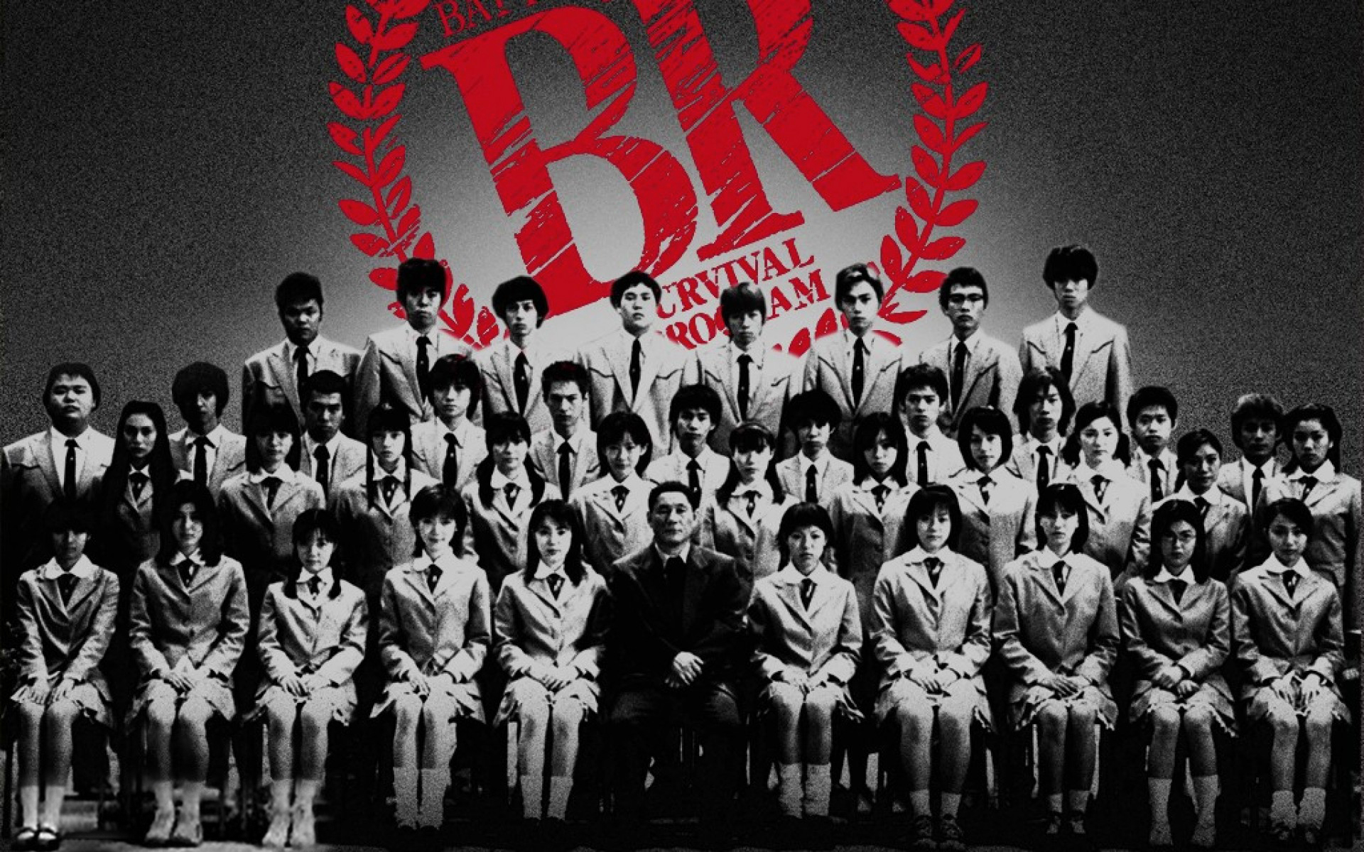 battle royale - class - students - movie - kitano