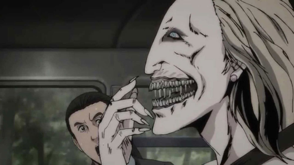 junji ito collection - anime - horror - yajie